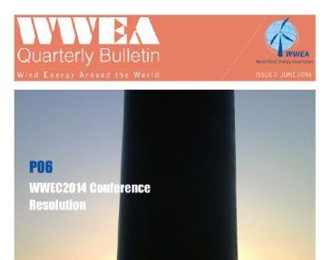 WWEA Bulletin Issue 2 – 2014