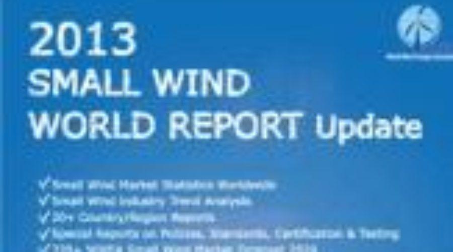 WWEA releases 2013 Small Wind World Report Update