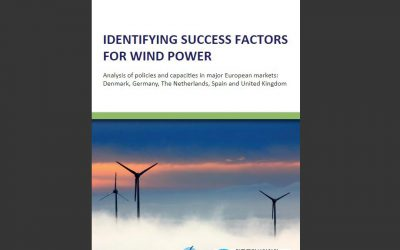 New WWEA Publication:  Identifying success factors for wind power